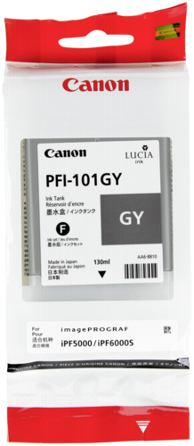 Canon PFI-101 GY Medium Grey