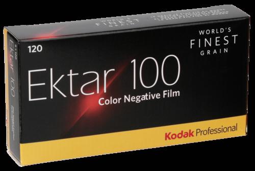 Kodak Ektar Prof. 100 120 1x5