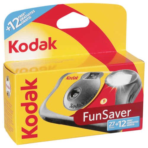 Kodak Fun Saver Camera 27+12