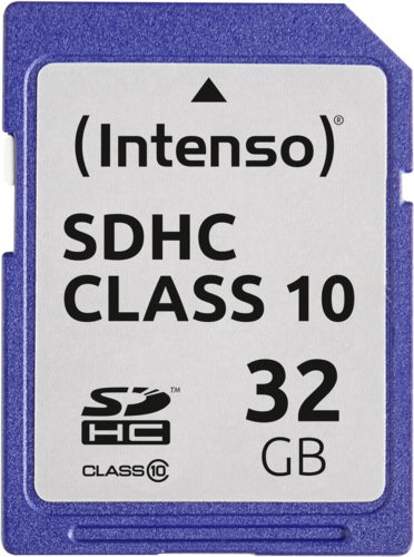 Intenso SDHC Card 32GB Class 10