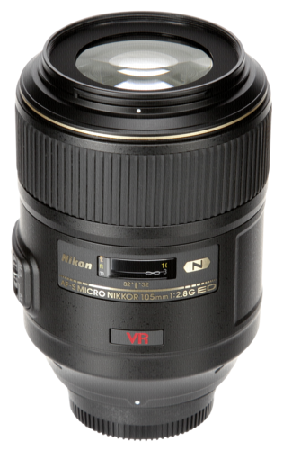 Nikon AF-S 105mm f/2.8G IF ED VR Micro