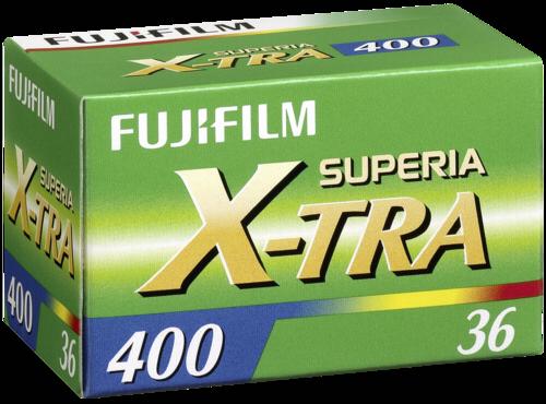Fujifilm Superia X-tra 400 135/36