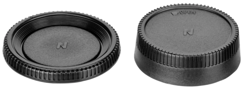 DigiCAP Snap-On Front and Rear Lens Cap Nikon