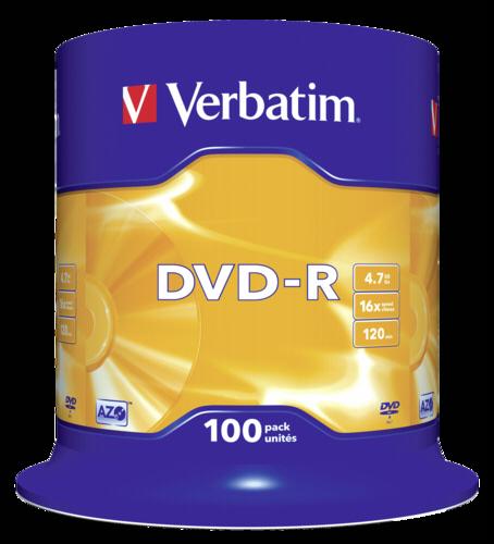 Verbatim DVD-R 4.7GB 16x speed 1x100