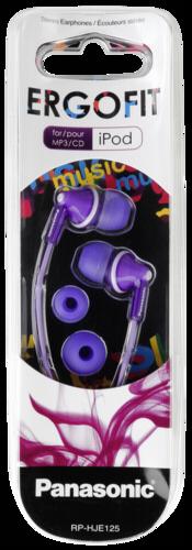 Panasonic RP-HJE 125 E-V purple