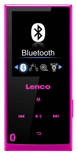 Lenco Xemio 760 BT 8GB pink