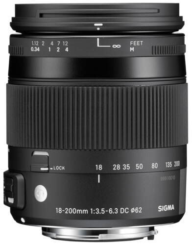 Sigma 18-200mm f/3.5-6.3 DC HSM Pentax