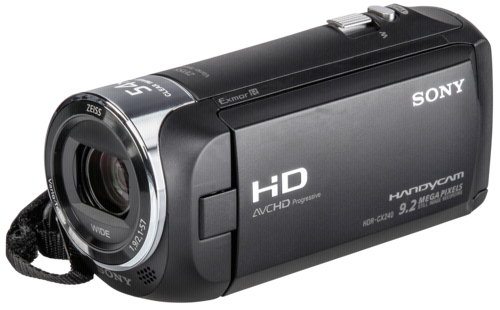 Sony HDR-CX 240 Black