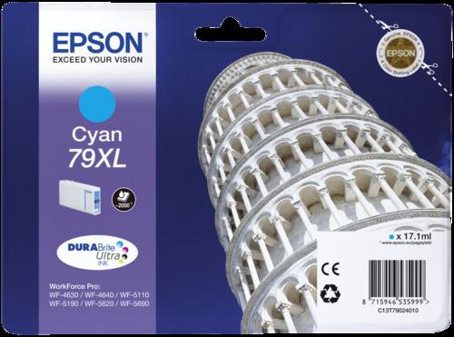 Epson Cartridge T7902 DURABrite Cyan XL