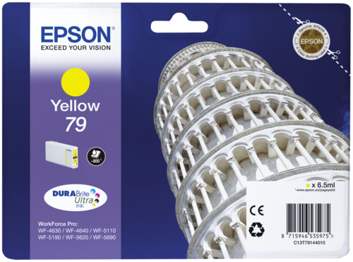 Epson Cartridge T7914 DURABrite Yellow