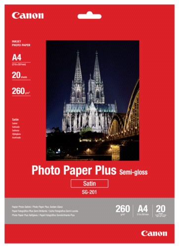 Canon SG-201 Semi Gloss A4 260gr (20 sheets)