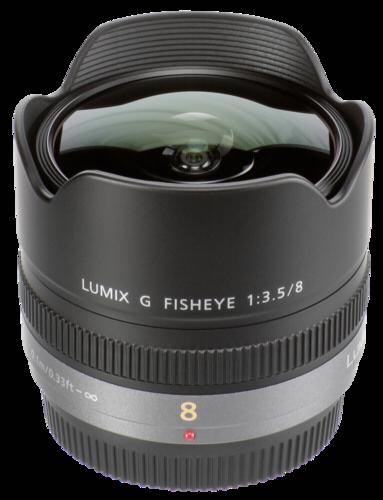 Panasonic Lumix G 8mm f/3.5 Fisheye