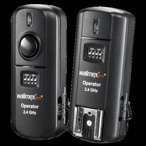 Walimex Flash Trigger Set Nikon 2.4GHz