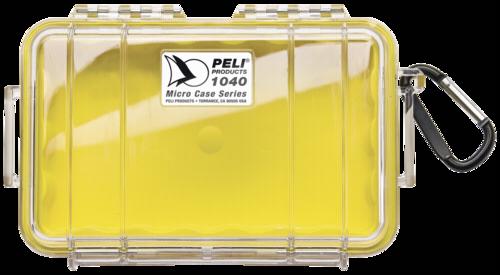 Peli Micro Case 1040 Yellow