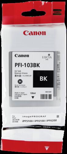Canon PFI-103 BK Black