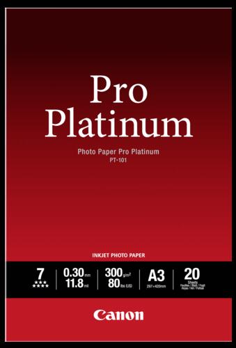 Canon PT-101 Pro Platinum A3 300gr (20 sheets)