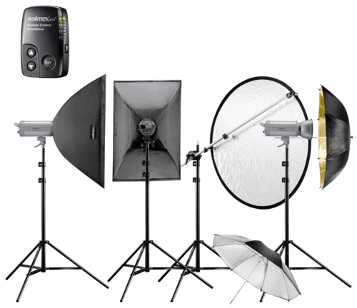 Walimex Pro Studioset Excellence VC-400/400/300