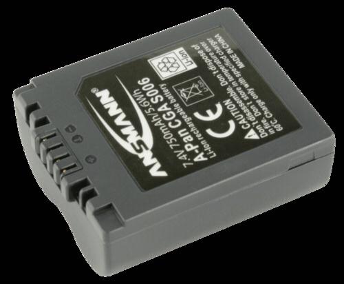 Ansmann Panasonic CGA-S006 800mAh
