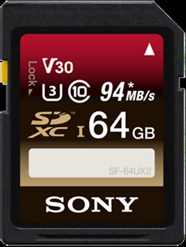 Sony SDXC Expert 64GB 94MB/s Class 10 UHS-I U3