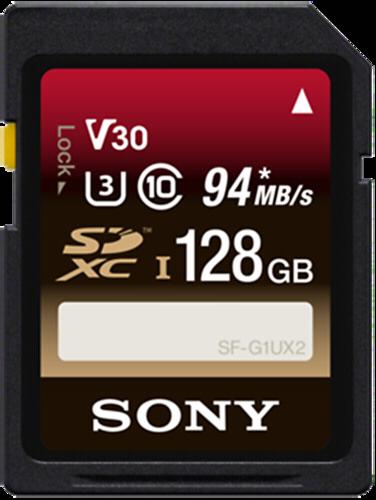 Sony SDXC Expert 128GB 94MB/s Class 10 UHS-I U3
