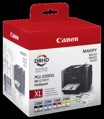 Canon PGI-2500 BK/C/M/Y Multipack XL