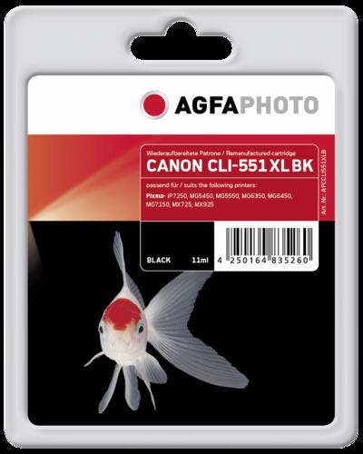 AgfaPhoto CLI 551 XL BK Black