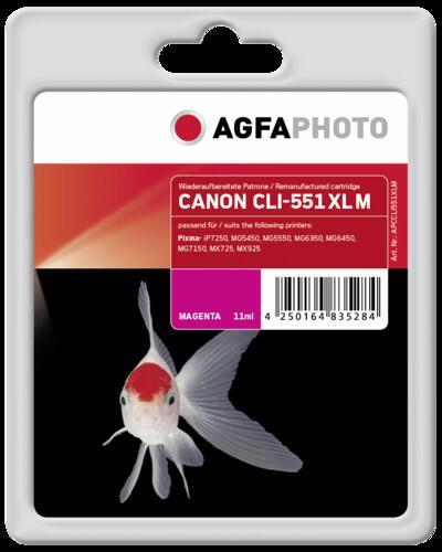 AgfaPhoto CLI 551 XL M Magenta