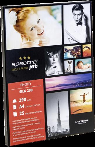 Tetenal Spectra Jet Photo Silk A4 290gr (25 sheets)