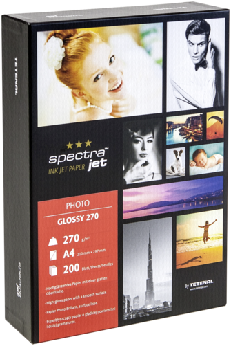 Tetenal Spectra Jet Photo Glossy A4 270gr (200 sheets)