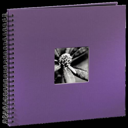 Hama Fine Art Spiral Lila 36x32 - 50 black pages