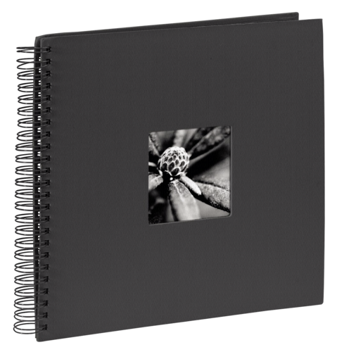 Hama Fine Art Spiral Black 36x32 - 50 black pages