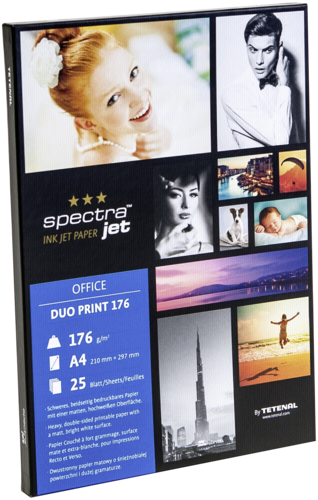 Tetenal Spectra Jet Duo Print A4 176gr (25 sheets)