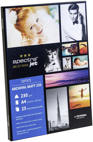 Tetenal Spectra Jet Archival Matt A4 230gr (25 sheets)