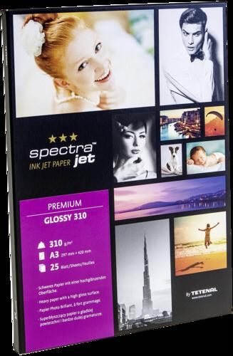 Tetenal Spectra Jet Premium Glossy A3 310gr (25 sheets)