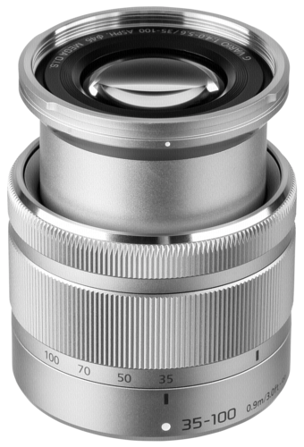 Panasonic Lumix G 35-100mm f/4-5.6 OIS Silver