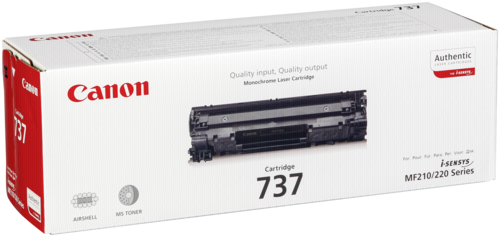 Canon Toner Cartridge 737 Black