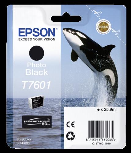 Epson Cartridge T7601 Photo Black