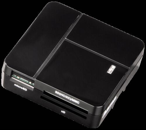 Hama Multi Card Reader Basic Black USB 2.0