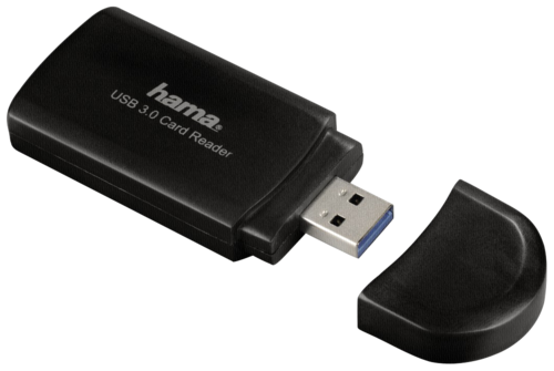 Hama Super Speed Card Reader SD/microSD USB 3.0