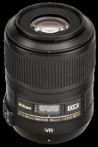 Nikon AF-S 85mm f/3.5G DX ED VR Micro