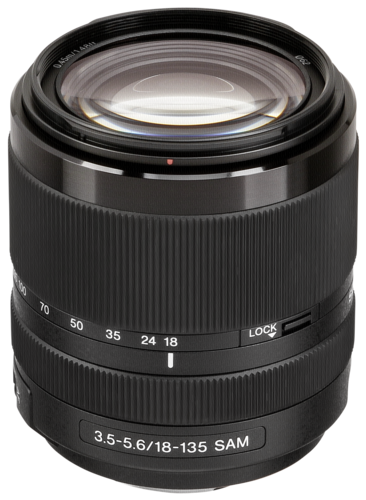 Sony 18-135mm f/3.5-5.6 DT
