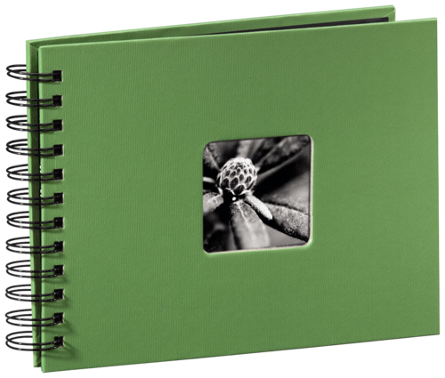 Hama Fine Art Spiral Green 24x17 - 50 black pages