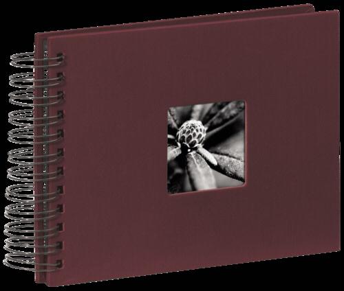 Hama Fine Art Spiral Bordeaux 24x17 - 50 black pages