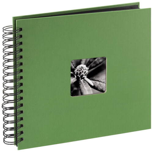 Hama Fine Art Spiral Green 28x24 - 50 black pages