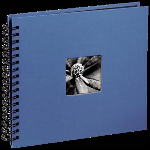 Hama Fine Art Spiral Azure 28x24 - 50 black pages