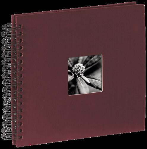 Hama Fine Art Spiral Bordeaux 28x24 - 50 black pages