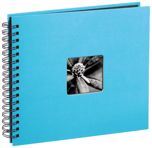 Hama Fine Art Spiral Turquoise 28x24 - 50 black pages