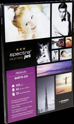 Tetenal Spectra Jet Premium Baryta A2 310gr (25 sheets)