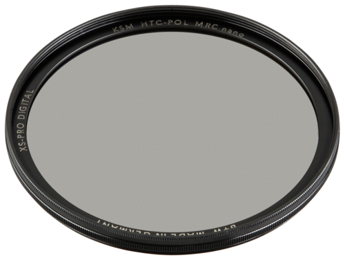 B+W XS-Pro HTC Circular Polarizer Kasemann MRC nano 58mm