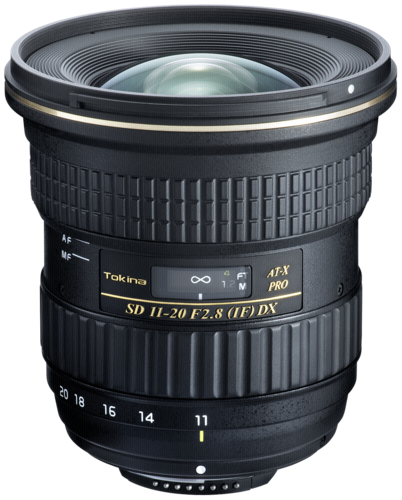 Tokina AT-X 11-20mm f/2.8 Pro DX II Canon